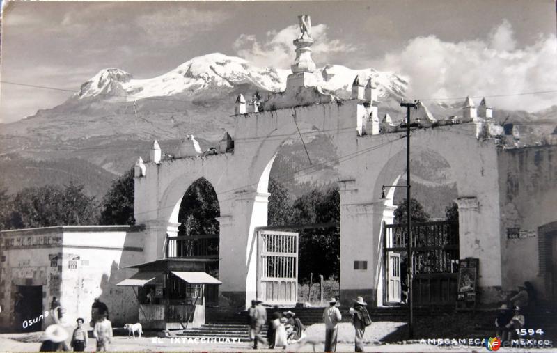 VOLCAN IXTACCIHUATL Hacia 1945