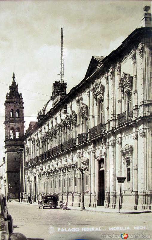 PALACIO FEDERAL Hacia 1945