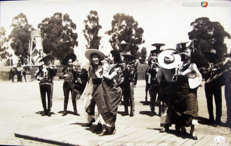 JARABE MICHOACANO Hacia 1945