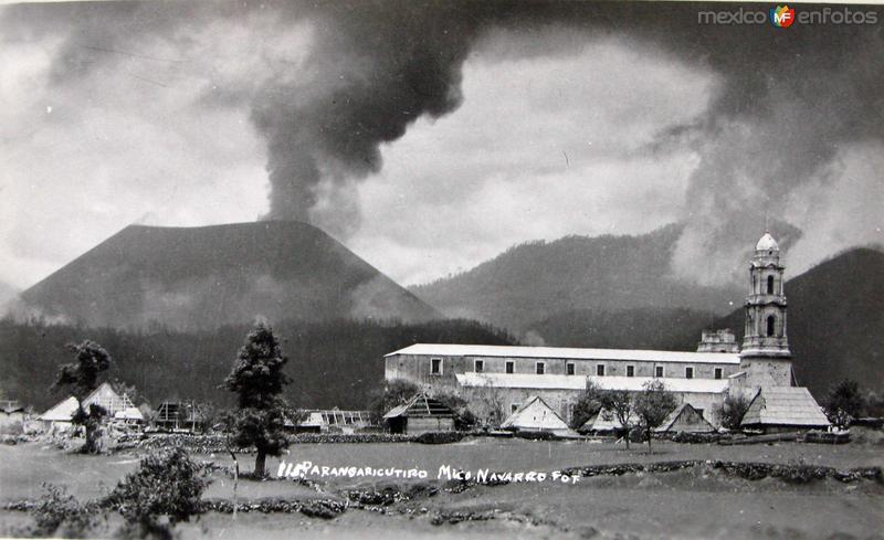 PANORAMA Y LA TORRE Hacia 1945