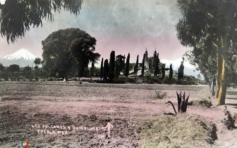 LOS VOLCANES Hacia 1945