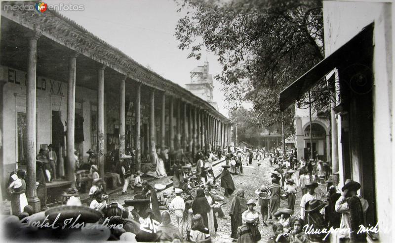TIPOS MEXICANOS DIA DE PLAZA Hacia 1930