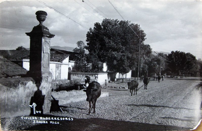PANORAMA TIPICOS ALREDEDORES Hacia 1945