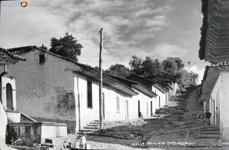 CALLE DE COSS Hacia 1940