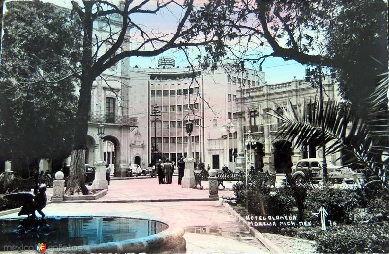 HOTEL ALAMEDA Hacia 1945