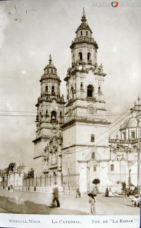 PANORAMA DE LA CATEDRAL Hacia 1920