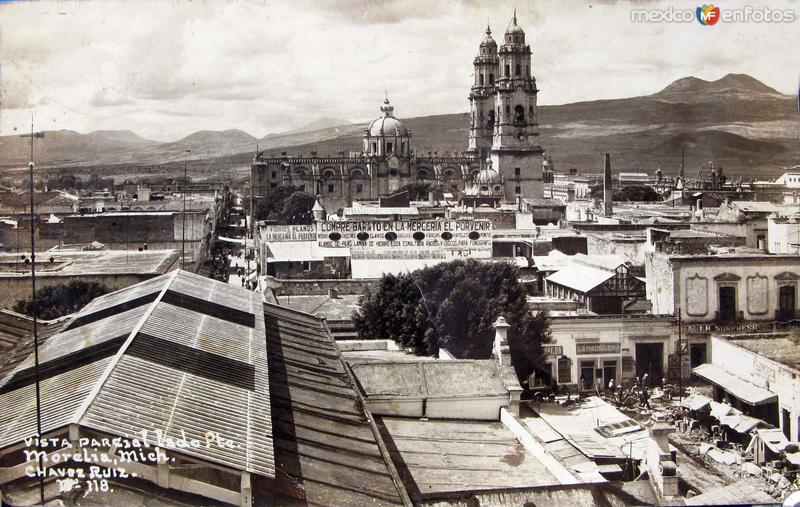 PANORAMA DE LA CATEDRAL Hacia 1945