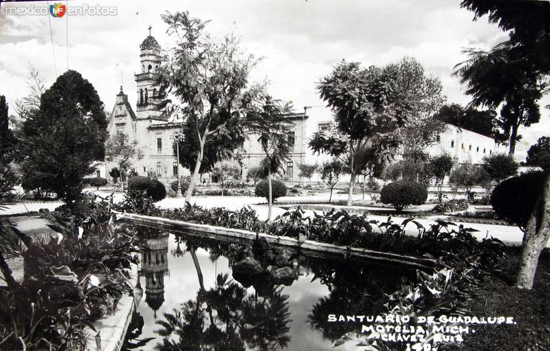 SANTUARIO GUADALUPE Hacia 1945
