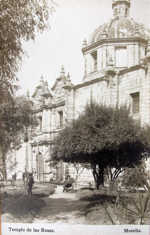TEMPLO DE LAS ROSAS Hacia 1900