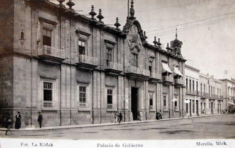 PALACIO DE GOBIERNO Hacia 1900