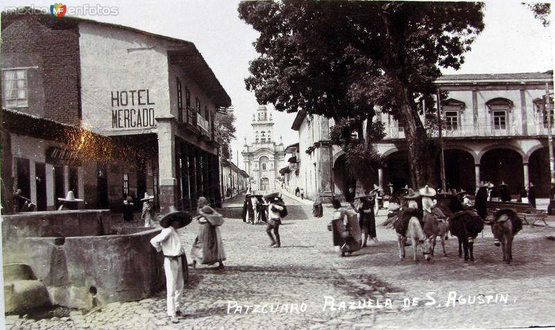 PLAZUELA DE SAN AGUSTIN Hacia 1930