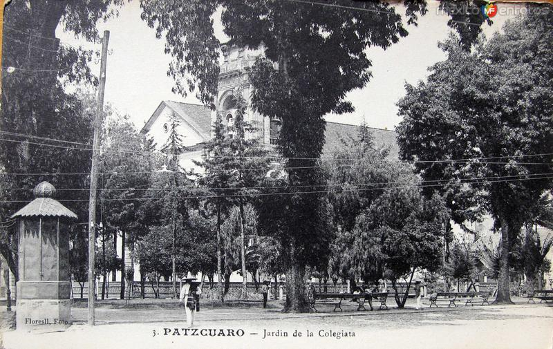 JARDIN DE LA COLEGIATA Hacia 1930