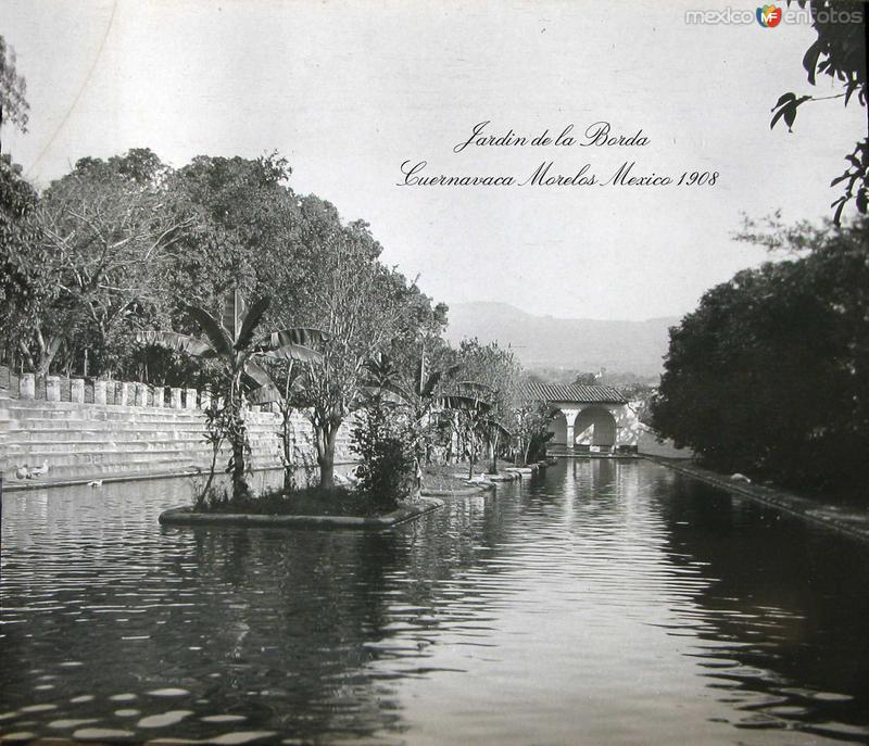 JARDIN DE LA BORDA Hacia 1909