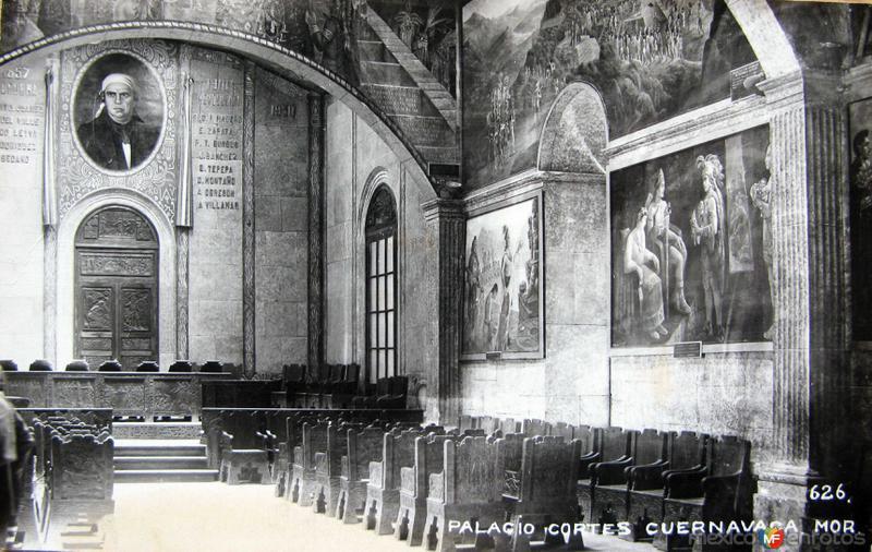 INTERIOR DEL PALACIO DE CORTES