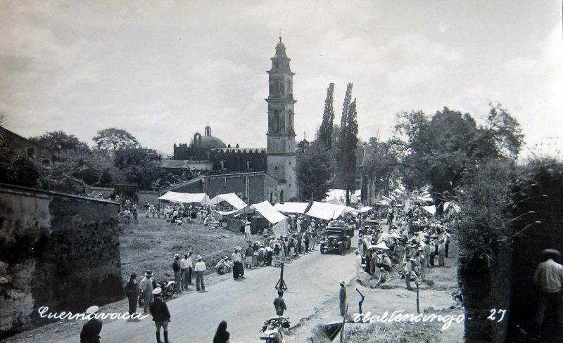 IGLESIA TLALTENANGO Hacia 1945