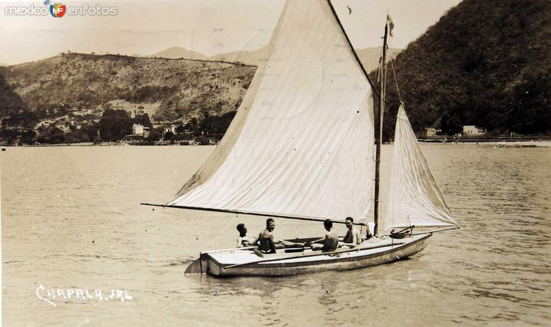 El lago Hacia 1930