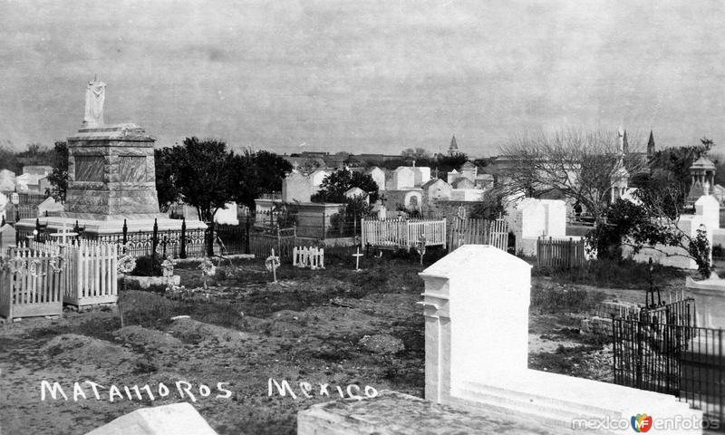 Cementerio en Matamoros