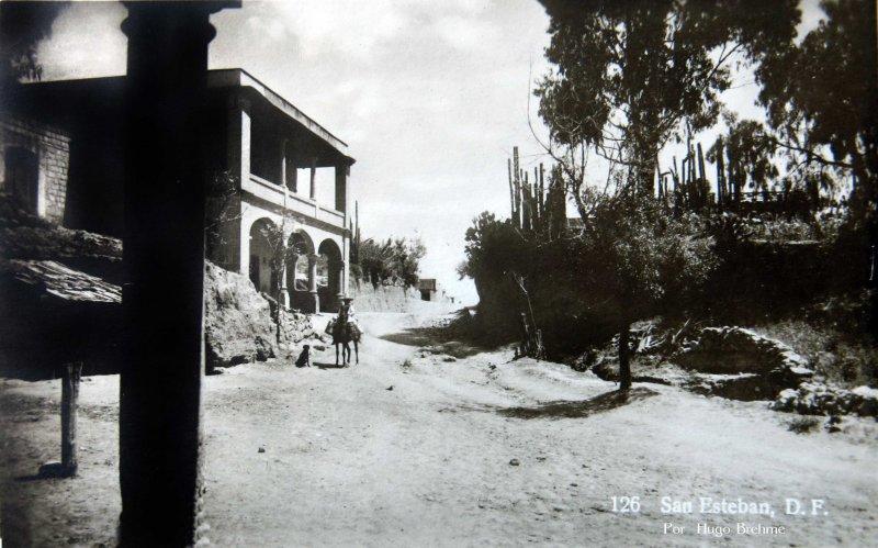 BARRIO DE SAN ESTEBAN por el fotografo HUGO BREHME Hacia 1930