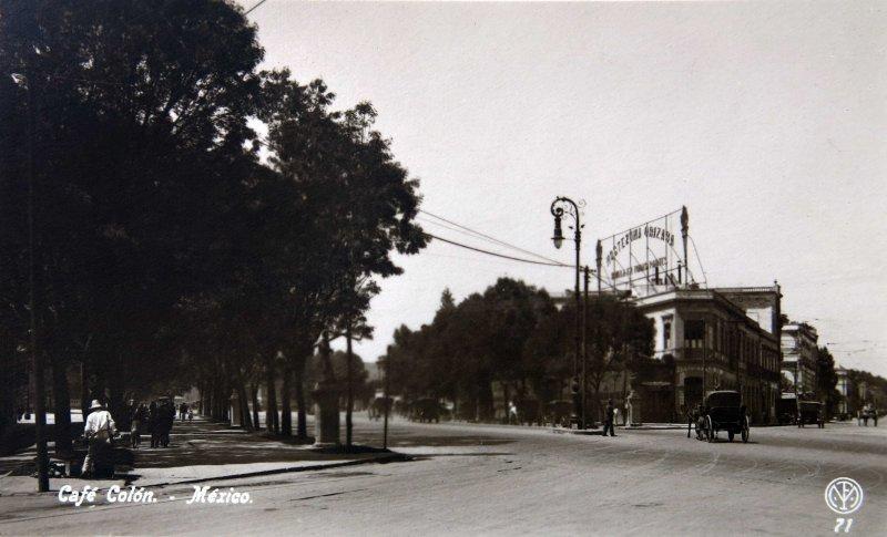 CAFE COLON Hacia 1920