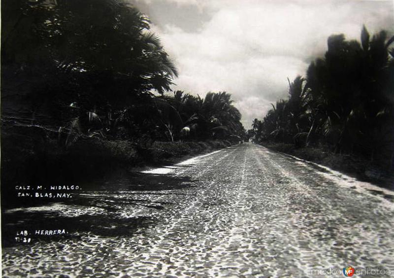 AVENIDA HIDALGO Hacia 1950