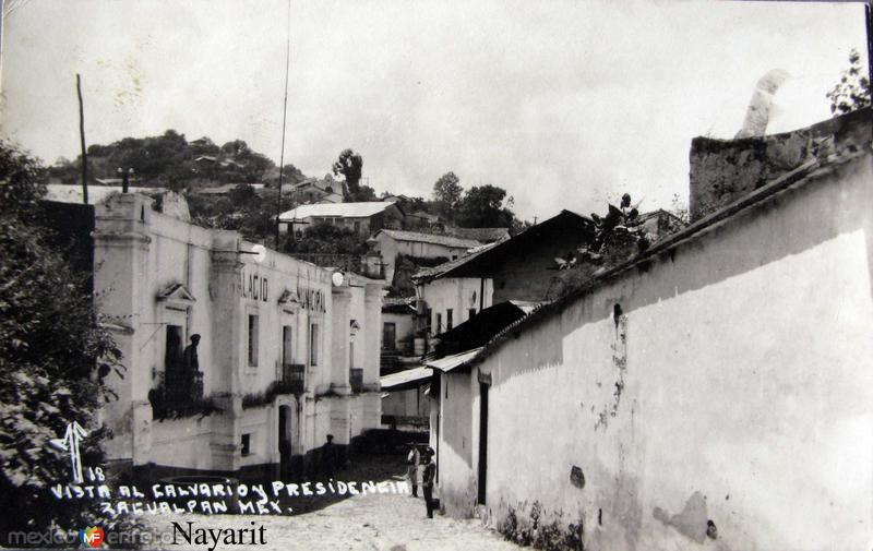 VISTA AL CALVARIO Y PRESIDENCIA