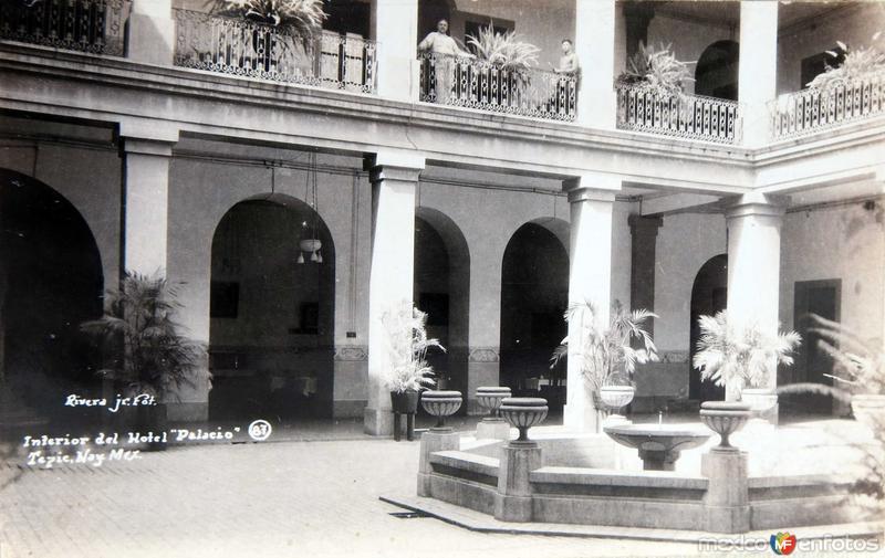 INTERIOR DEL HOTEL PALACIO