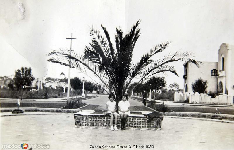 Colonia Condesa Mexico D F Hacia 1930
