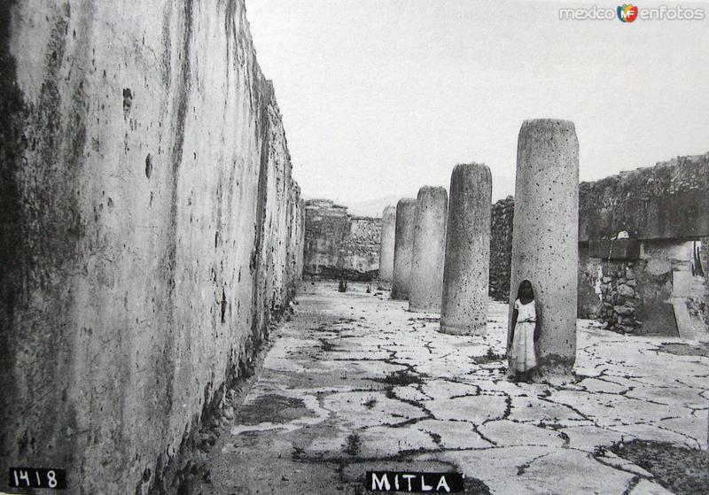 LAS RUINAS PANORAMA Hacia 1909
