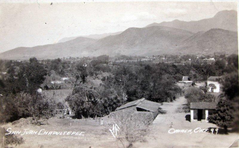 PANORAMA DE SAN JUAN CHAPULTEPEC HACIA 1945
