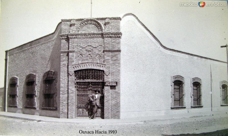 OFICINA HACIA 1908