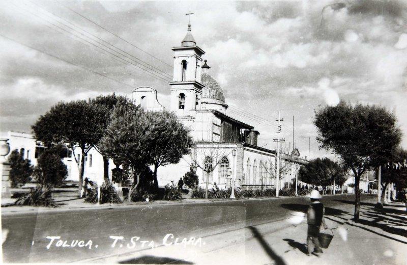 IGLESIA DE SANTA CLARA Hacia 1920