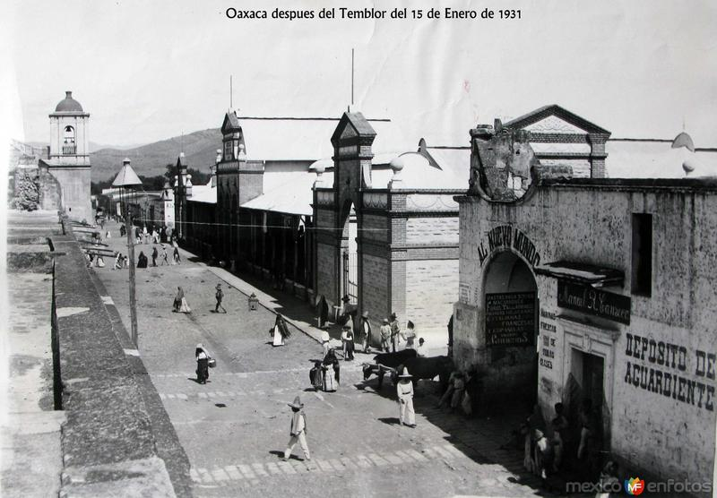 DESPUES DEL TEMBLOR DE 1931