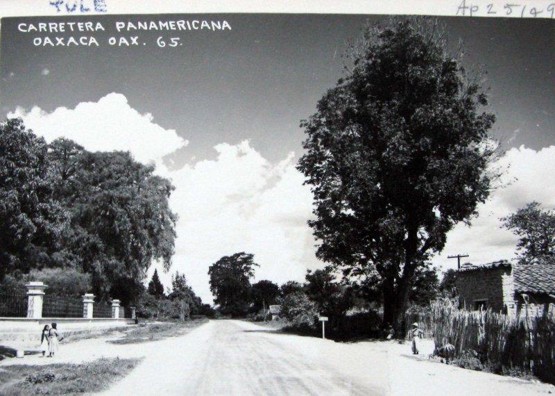CARRETERA PANAMERICANA Hacia 1945