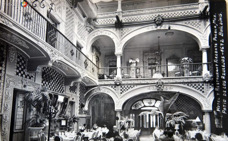 HOTEL ARRONTE Hacia 1940