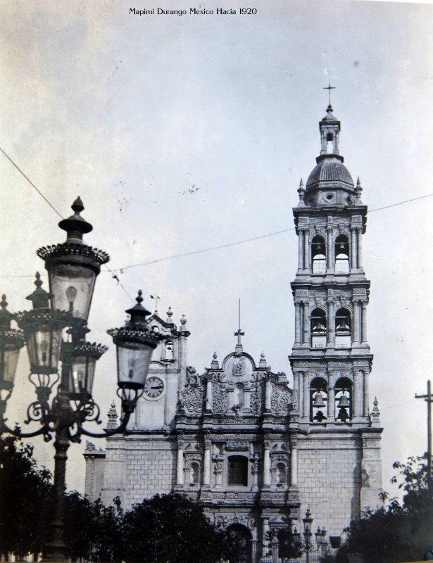 Catedral de Monterrey (ca. 1920)