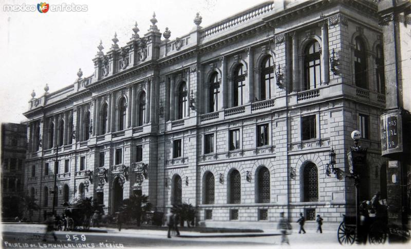 PALACIO DE COMUNICACIONESS Hacia 1910