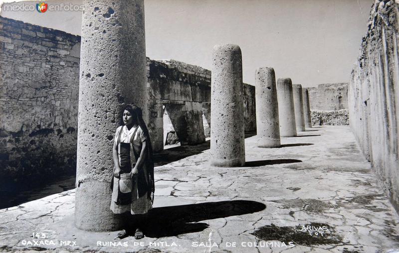 LAS RUINAS ARQUEILOGICAS Hacia 1945