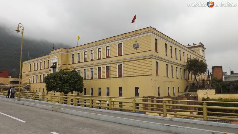 Vista posterior del Palacio Municipal. Diciembre/2014