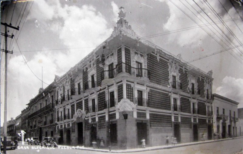 CASA DEL ALFENIQUE Hacia 1845