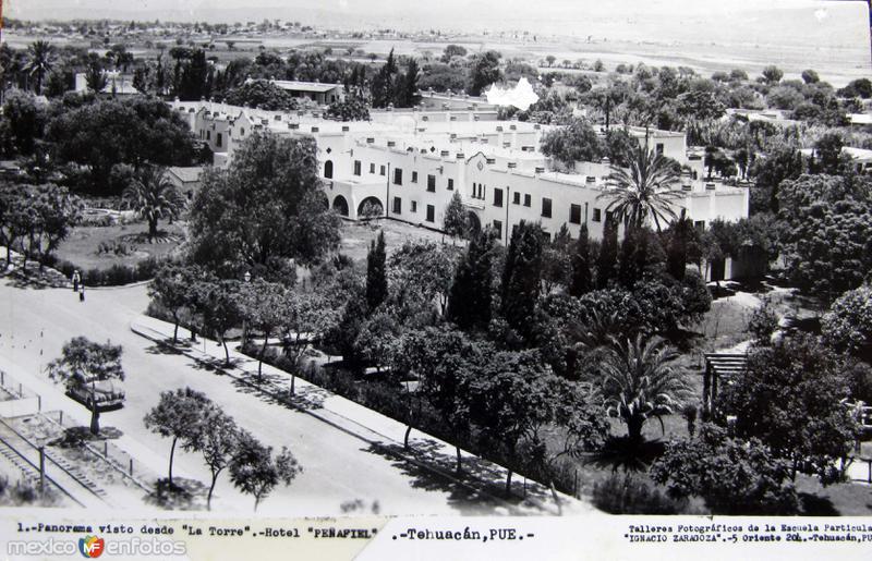 HOTEL PENAFIEL Hacia 1945