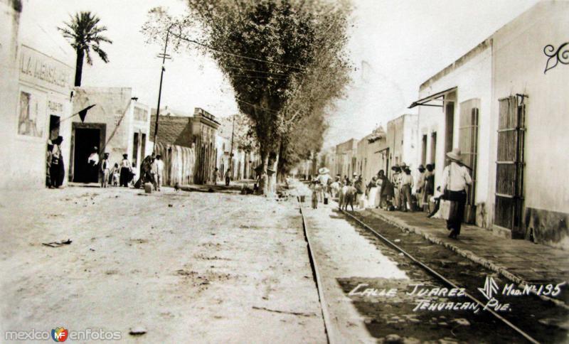 CALLE JUAREZ Hacia 1914