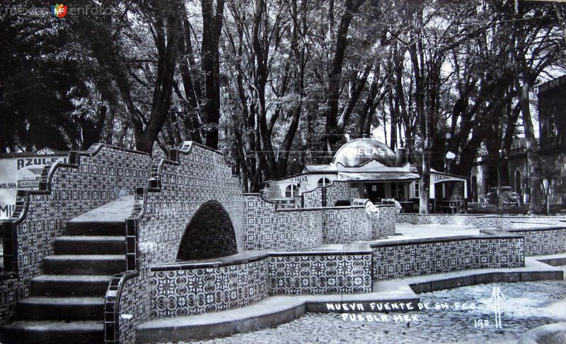 FUENTE DE SAN FRANCISCO Hacia 1946