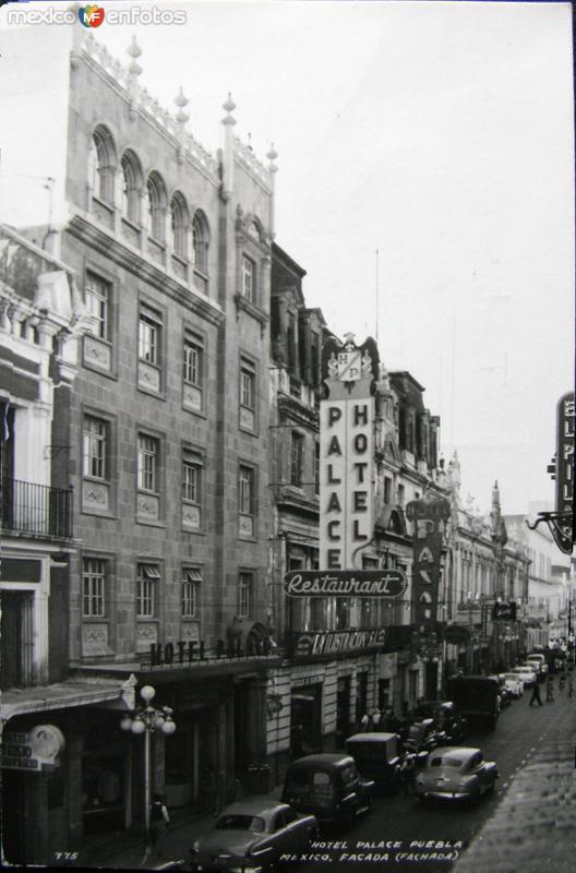 HOTEL PALACE PANORAMA Hacia 1945