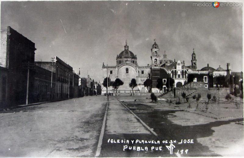 PLAZUELA DE SAN JOSE Hacia 1930