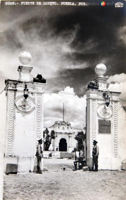 FUERTE DE LORETO Hacia 1945