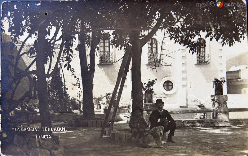 LA GRANJA Hacia 1930