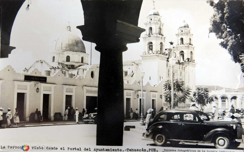 EL PORTAL PANORAMA Hacia 1945
