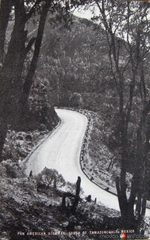 LA CARRETERA Hacia 1945