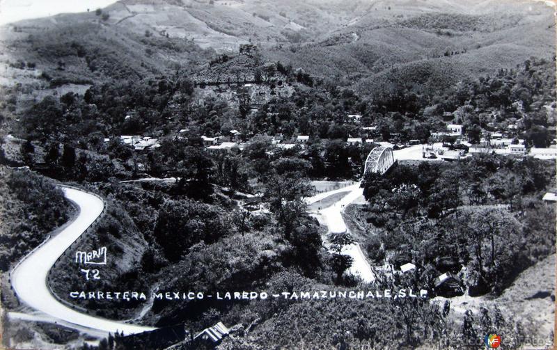 CARRETERA A MEXICO Hacia 1945