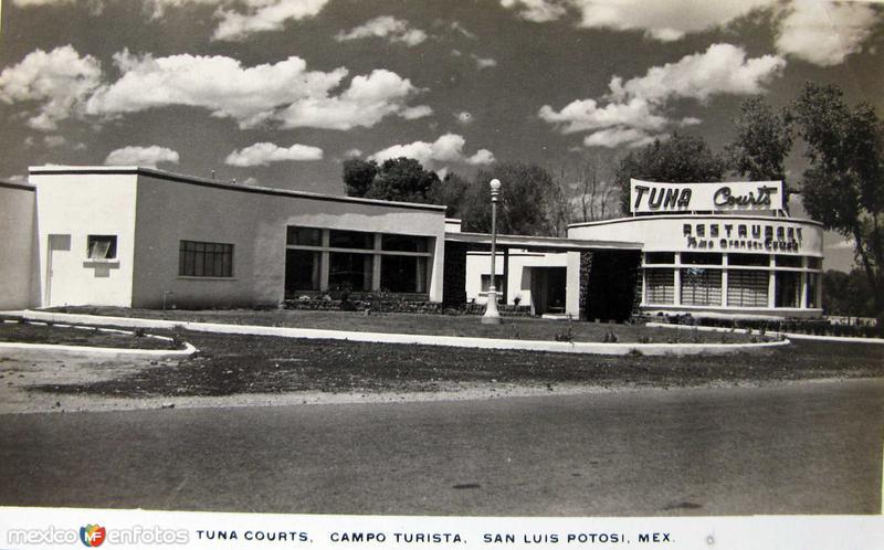 CAMPO TURISTA Hacia 1940
